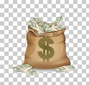 Money Bag Dollar Sign Bank PNG