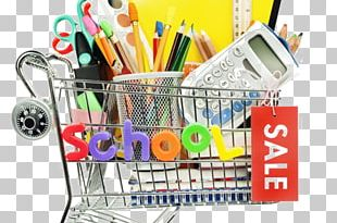 Back To School Shopping Retail Education PNG