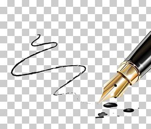 Fountain Pen Writing Paper Nib PNG