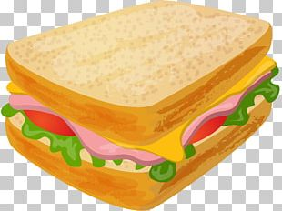 Fast Food Toast Sandwich Ham And Cheese Sandwich PNG