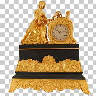Mantel Clock Solvang Antiques Movement PNG