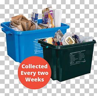 Box Plastic Paper Recycling Bin PNG