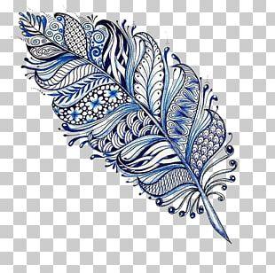 Mandala Drawing Feather Tattoo Mehndi PNG