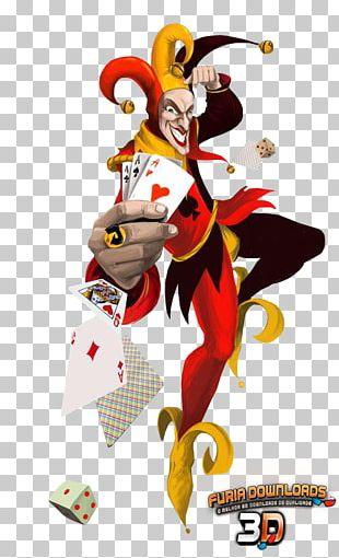 Joker Video Poker Playing Card PNG