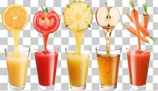 Orange Juice Strawberry Juice Fizzy Drinks PNG