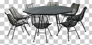 Table Mid-century Modern Chair Dining Room Furniture PNG