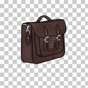 Baggage Leather Sporran Tote Bag PNG