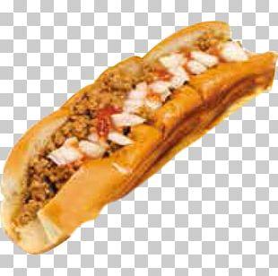Coney Island Hot Dog Chili Dog Meatloaf Fast Food PNG