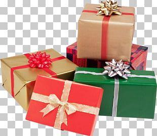 Gift Christmas Day Birthday Box PNG