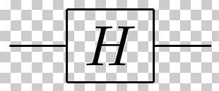 Quantum Logic Gate Hadamard Matrix Hadamard Transform Quantum Mechanics CircuiTikZ PNG