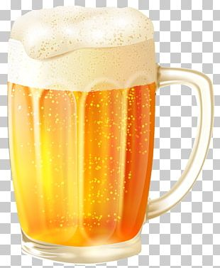 Beer Glasses Pretzel Mug PNG