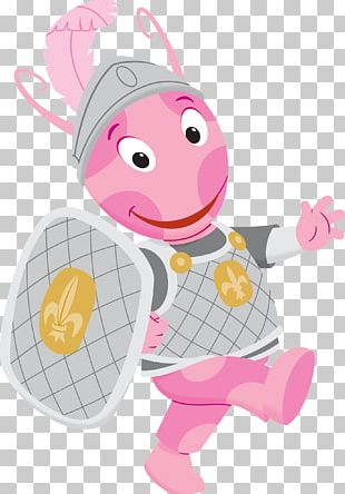 Uniqua Dressed As Knight PNG