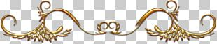 Gold Body Jewellery Chemical Element Metal PNG