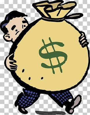 Money Bag Graphics Open PNG