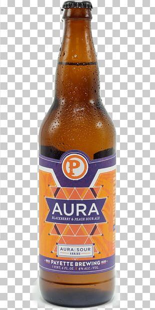 Lager Beer Bottle Wheat Beer India Pale Ale PNG