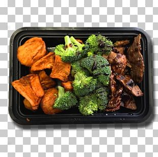 Bento Mongolian Beef Barbecue Chicken As Food PNG