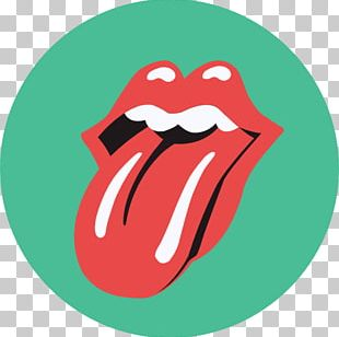 The Rolling Stones Logo Tongue Graphic Design PNG