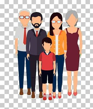 Family Drawing Illustration PNG