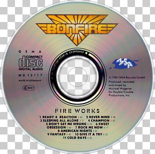 Compact Disc Fireworks Bonfire Music PNG