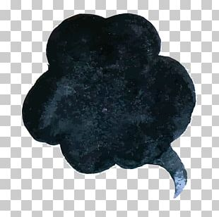 Decorative Ink Clouds PNG