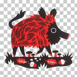 Wild Boar Game Hogs And Pigs Illustration PNG