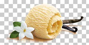 Ice Cream Cones Vanilla Flavor PNG