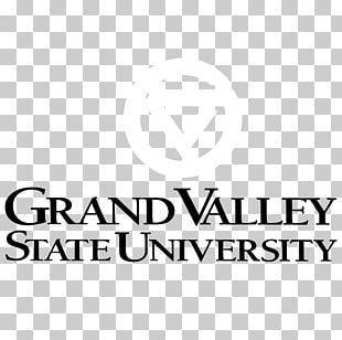 Grand Valley State University Logo Brand Font Line PNG