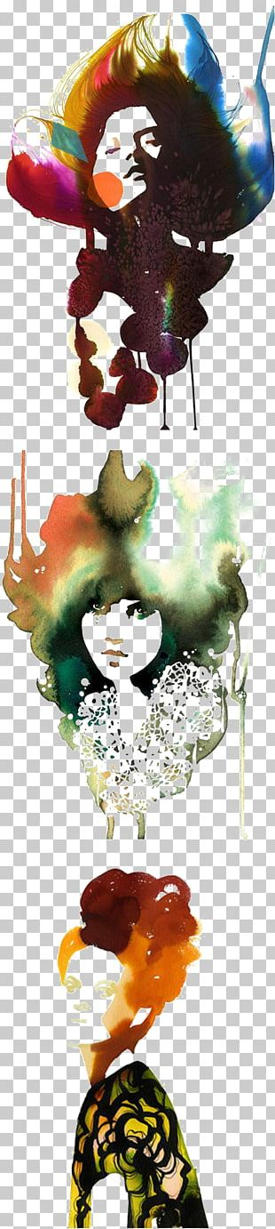 Watercolor Painting Drawing Fashion Illustration Art Illustration PNG