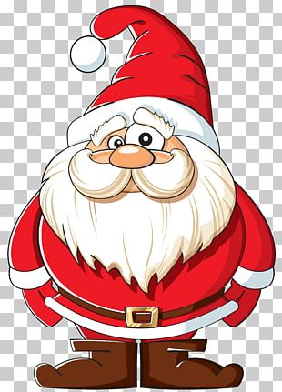 Santa Claus Christmas Sticker PNG