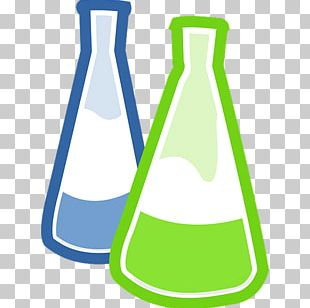 Laboratory Flasks Erlenmeyer Flask Chemistry Round-bottom Flask PNG