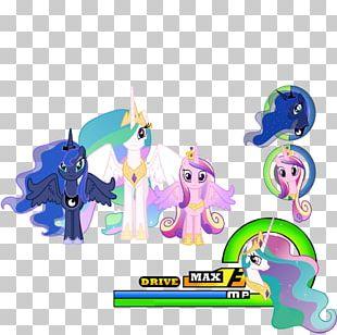Princess Luna Pony Horse Princess Celestia Unicorn Rainbow Makeover PNG