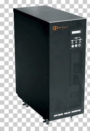 Solar Inverter Power Inverters Computer Cases & Housings Battery Charger Stand-alone Power System PNG