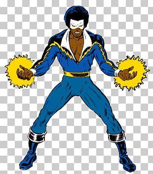 Black Lightning Thunder DC Comics Superhero PNG