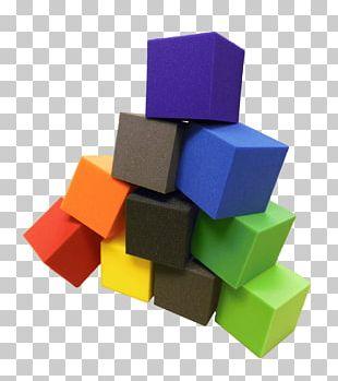 Toy Block Foam Square Gymnastics Cube PNG