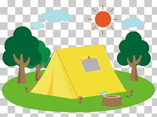Camping Campsite Campfire PNG