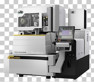 Electrical Discharge Machining Computer Numerical Control Cutting Machine PNG
