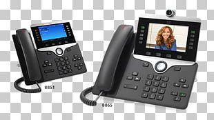 VoIP Phone Cisco 8865 Cisco 8845 Voice Over IP Cisco Unified Communications Manager PNG