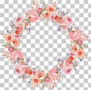 Wreath Flower Garland PNG