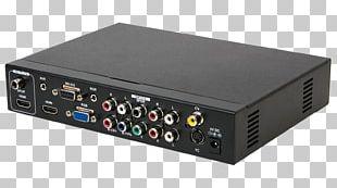 RF Modulator Electronics Radio Receiver Amplifier Audio PNG