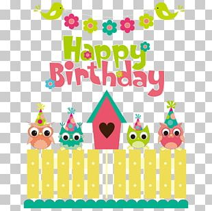 Birthday Party Illustration PNG