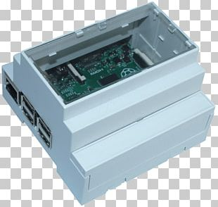 Computer Cases & Housings Electronics DIN Rail Raspberry Pi 3 PNG