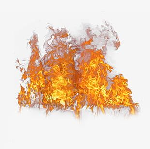 A Bunch Of Flames Burning PNG