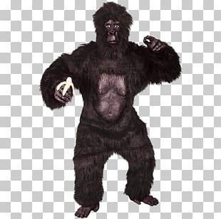 Gorilla Suit Costume Party Ape PNG
