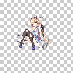 Battleship Girls Catgirl Moe Model Figure PNG