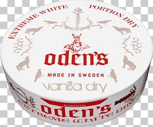 žvýkací Tabák Odens Cold Extreme White Dry Portion 10g Food Font Brand Chewing Tobacco PNG