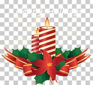 Christmas Ornament Candle PNG