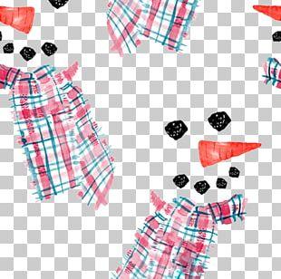 Snowman Textile PNG