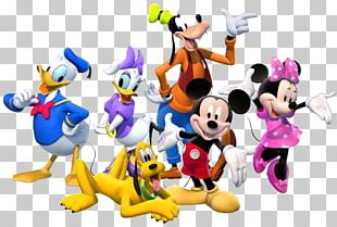 Mickey Mouse Minnie Mouse Pluto Daisy Duck Donald Duck PNG