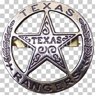 Texas Ranger Division American Frontier Badge Sheriff PNG