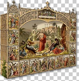 Bible Resurrection Of Jesus Christianity Diorama Stations Of The Cross PNG